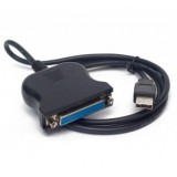 Адаптер USB на LPT (25 pin DB25 Parallel 1284)