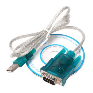 Адаптер USB на COM-порт (9 pin DB9, RS232)
