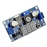Регулируемый модуль питания LM2596 - понижающий с вольтметром