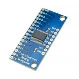 CD74HC4067 - мультиплексор