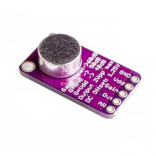 Микрофонный усилитель с АРУ MAX9814