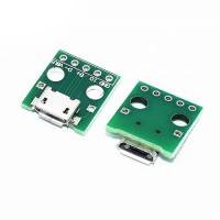 Адаптер micro USB на DIP