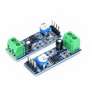 Аудио усилитель LM386
