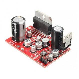 Аудио усилитель TDA7379 - 2x38W с предусилителем AD828