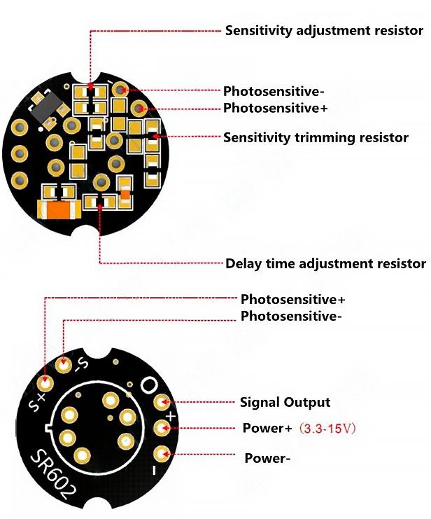 Модуль датчик движения MH-SR602